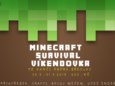 Minecraft Survival víkendovka